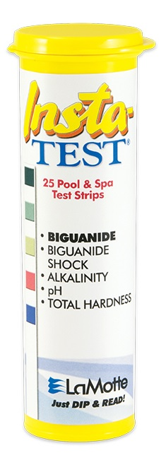 Insta-Test Biguanide with Shock Pool and Spa Test Strips