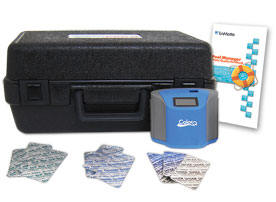 ColorQ TesTabs PRO 9 digital water analyzer.