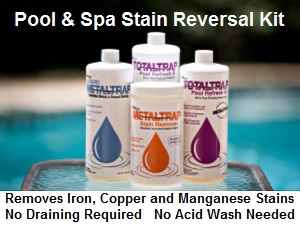 MetalTrap Stain Reversal Kit, for pools and spas