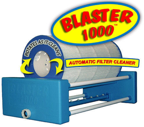 Blaster-1000 automatic filter cartridge cleaner