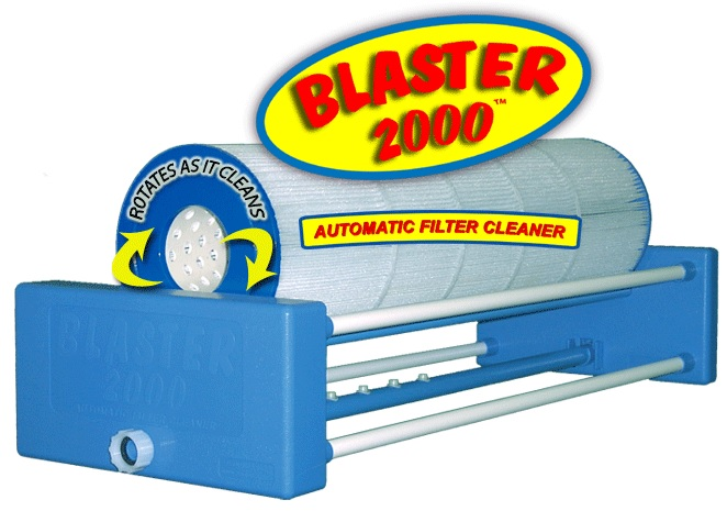 blaster - automatic pool-spa filter cartridge cleaner
