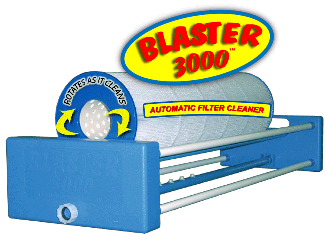 Blaster 300 automatic filter cartridge cleaner