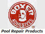 Boxer Adhesives vinyl repair products.