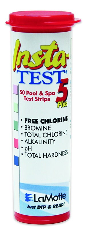 Insta-Test 5-Plus Test Strips, for Pools and Spas.