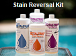 MetalTrap Stain Reversal Kit, for pools and spas.