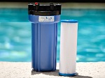 MetalTrap Single-Cartridge 5-Micron Filter System, for pools and spas.