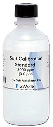 Salt Calibration Standard, for PockeTesters.
