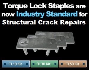 Torque-Loch For structural crack repair.
