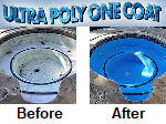 Ultra Poly One Coat - before and after pictures.